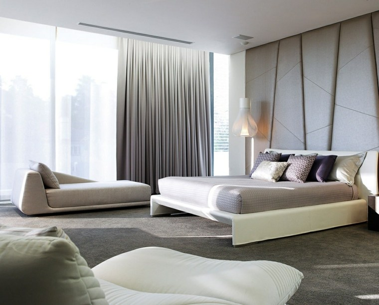 dormitorio original tumbona preciosa gris ideas