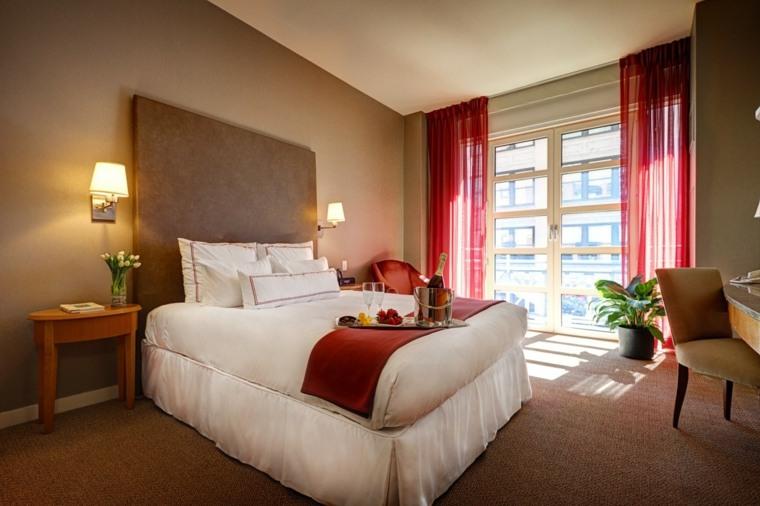 Dormitorios romanticos m s de 35 ideas irresistibles - Cortinas dormitorio principal ...