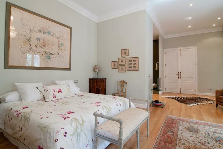 dormitorios vintage blanco mesas muebles