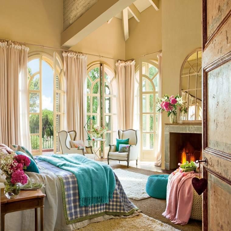 dormitorios vintage bonitos diseños colores