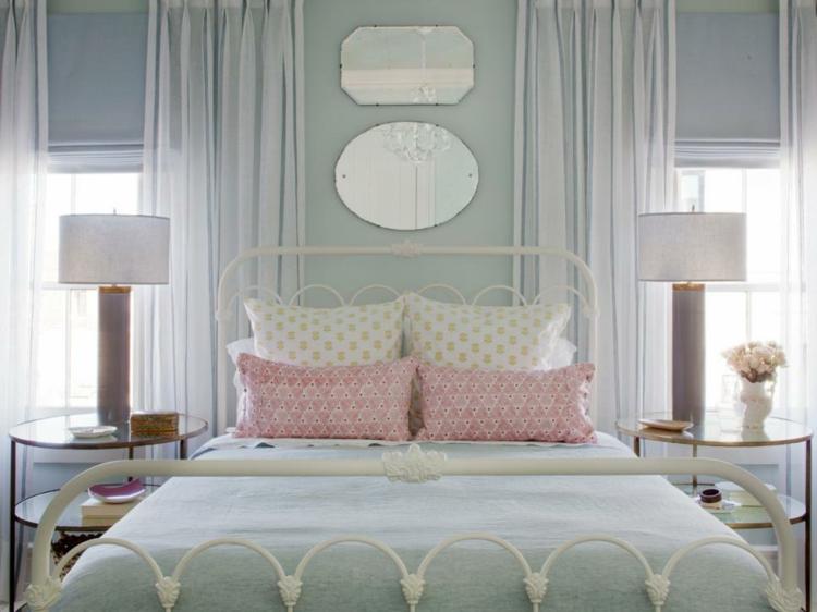 Dormitorios vintage toda la belleza del dise o en casa for Cortinas vintage