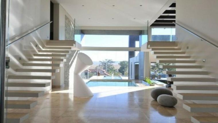 Escaleras de interior modernas   50 diseños que marcan tendencia
