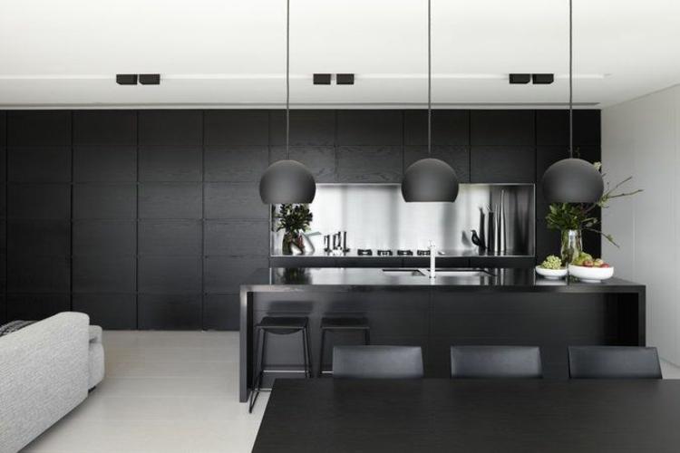 encimeras cocinas paredes detalles redondeadas plantas