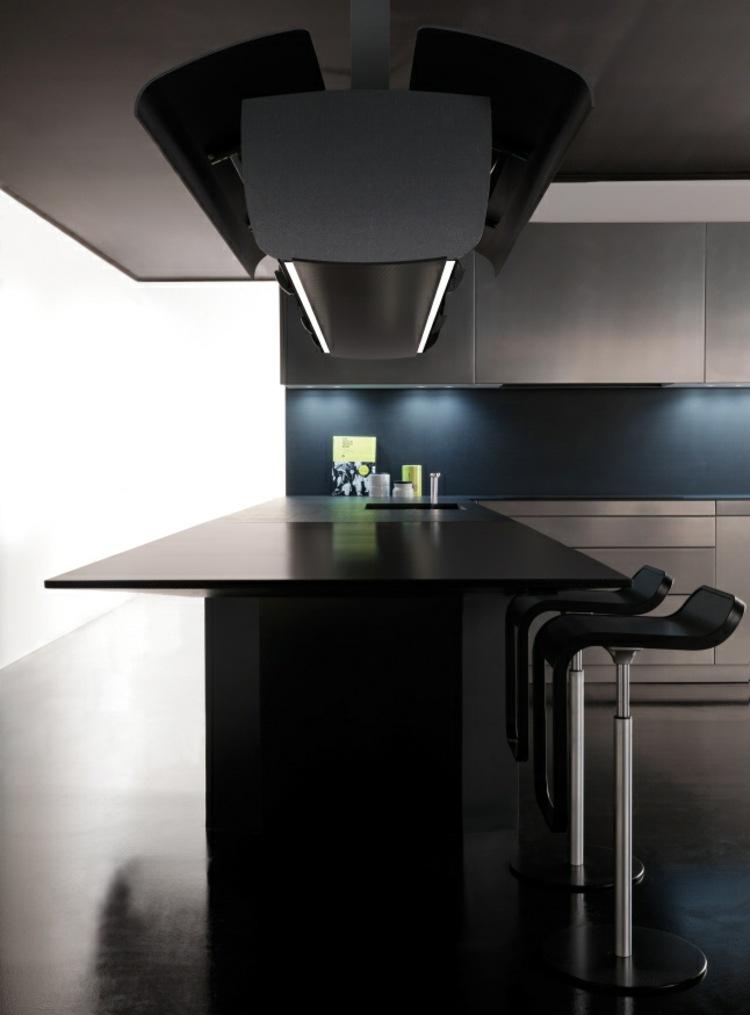 encimeras cocinas paredes detalles led