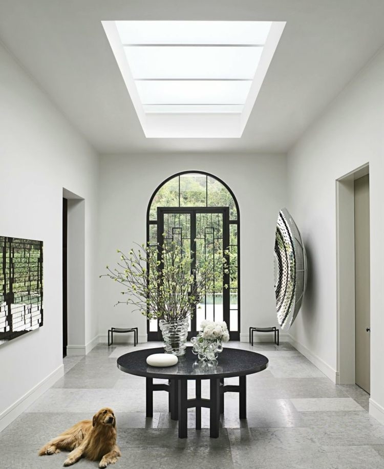 Recibidores con encanto 38 ideas para decorar - Fotos de recibidores modernos ...