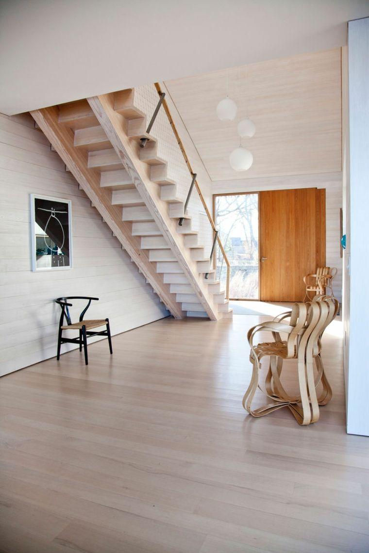 Escaleras De Interior Modernas 50 Dise 241 Os Que Marcan