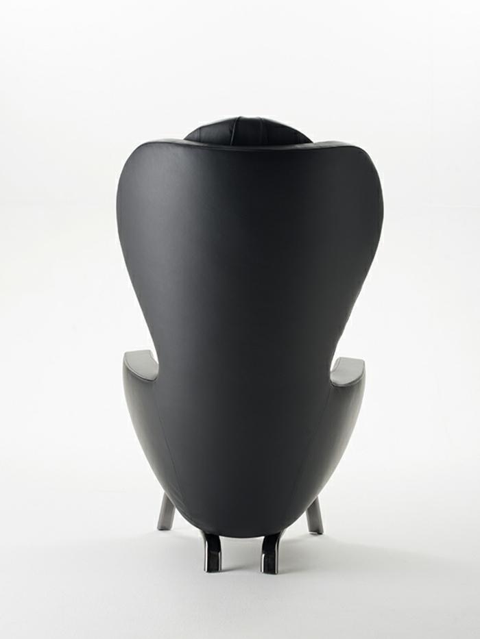 espaldar casas detalles muebles negros base