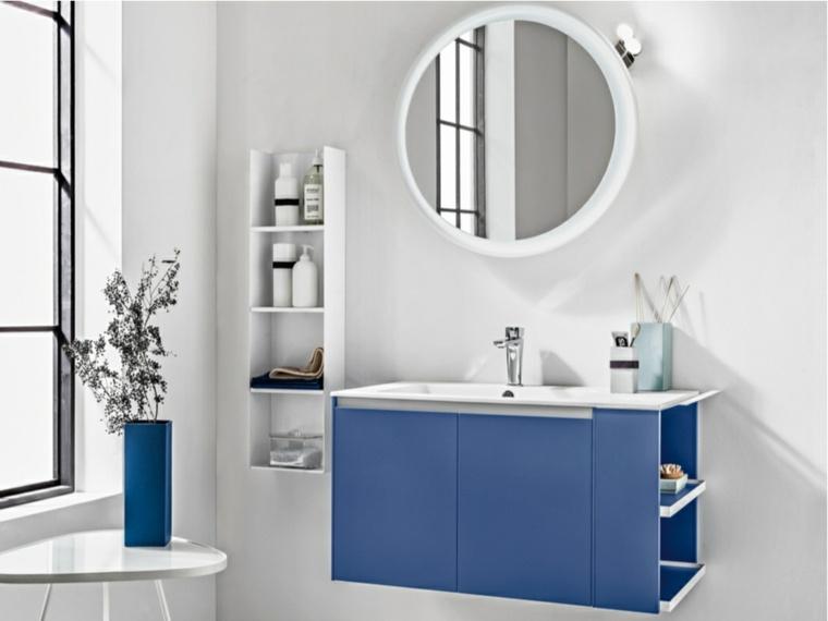 Espejos para ba o 25 dise os para decorar la pared - Formas de espejos ...