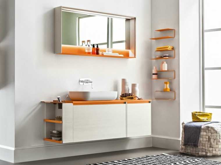 Espejos para ba o 25 dise os para decorar la pared - Espejos para decorar paredes ...