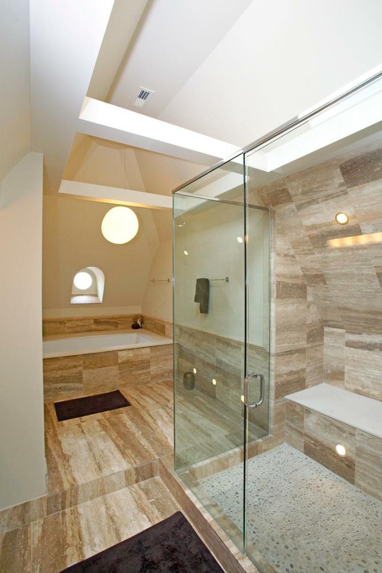 Cabinas De Baño Dimensiones:Baños con bañera, materiales y tendencias para el hogar -