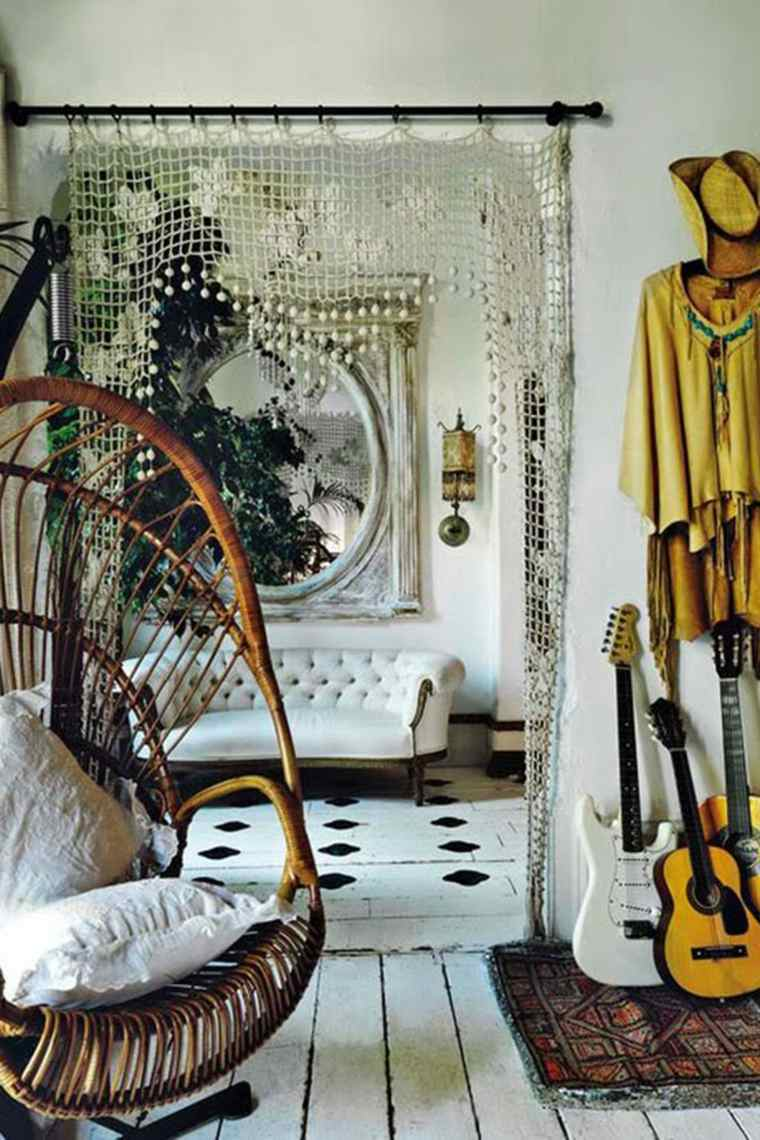 estilo boho chic toque colonial