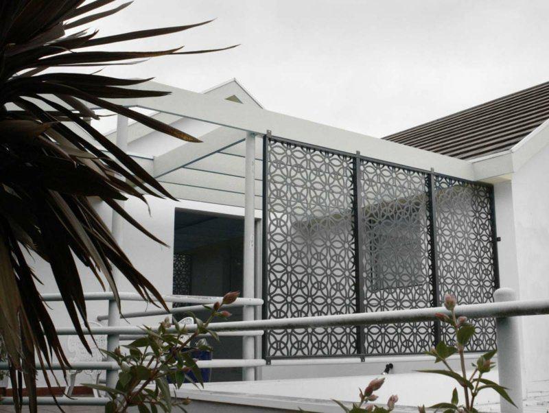 Estructuras metalicas 7 opciones de murallas de dise o - Estructuras metalicas para terrazas ...