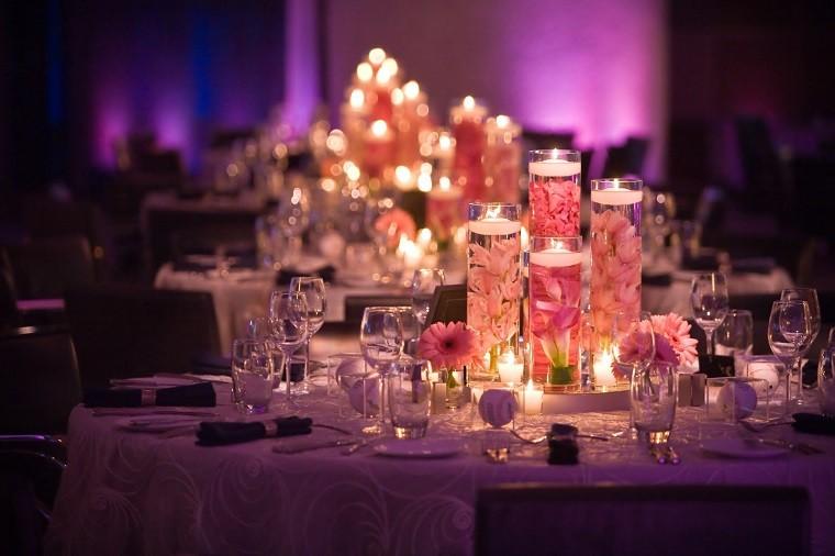 estupenda decoración centros boda