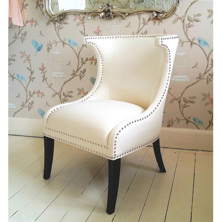 estupendo sillón respaldo tapizado