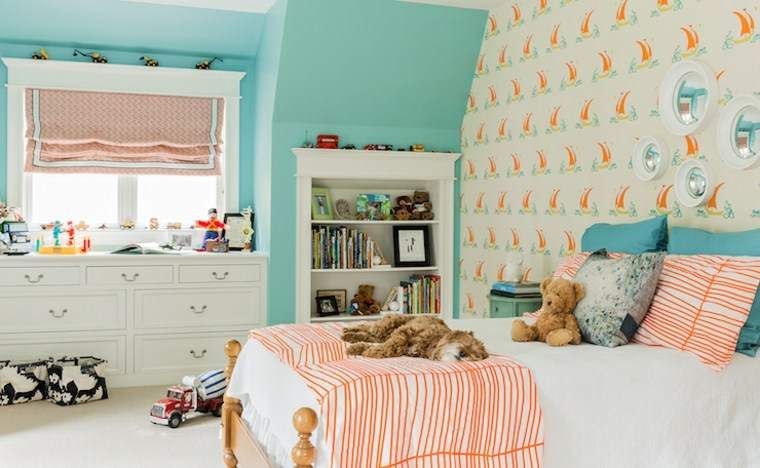 Habitaciones infantiles de moda 50 dise os divertidos - Diseno de habitaciones infantiles ...