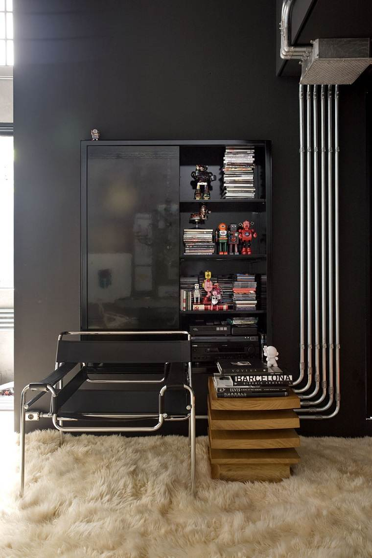 estupendo diseño interior de GT house de Gilherme Torres