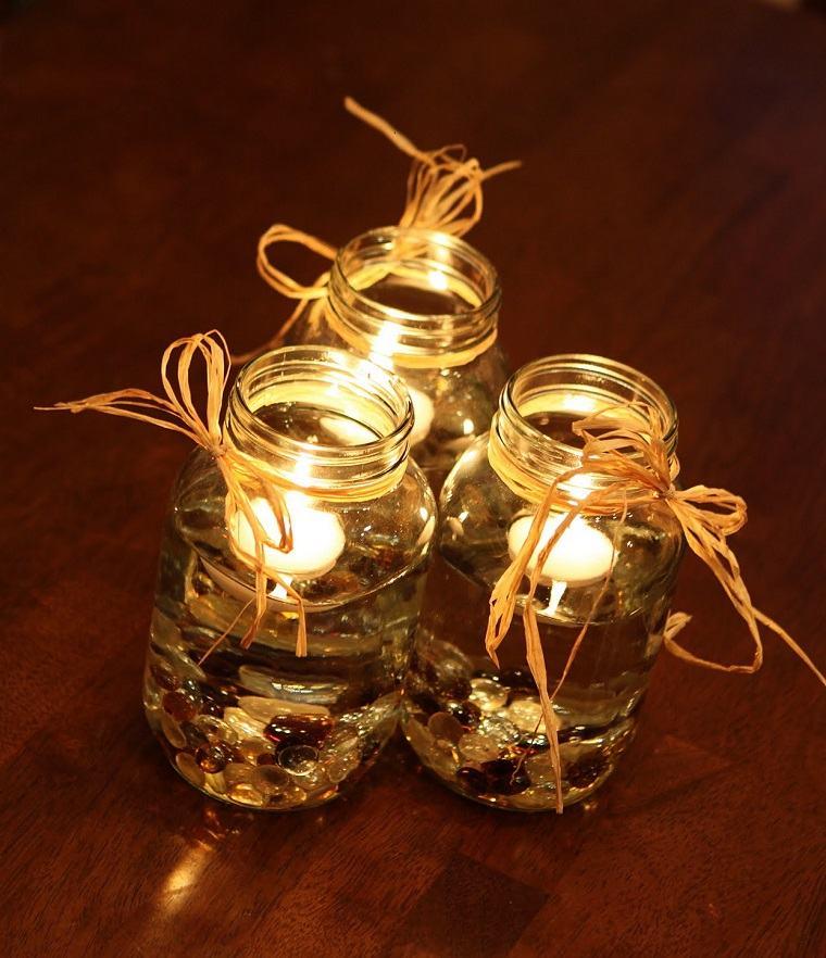 estupendos diseños adornos velas