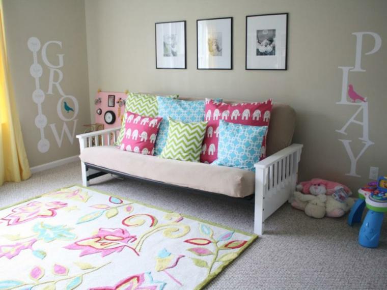 Habitaciones infantiles de moda 50 dise os divertidos - Diseno habitaciones infantiles ...