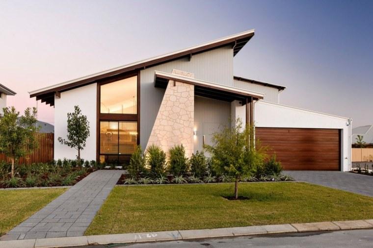 estupenda casa campo diseo fachada