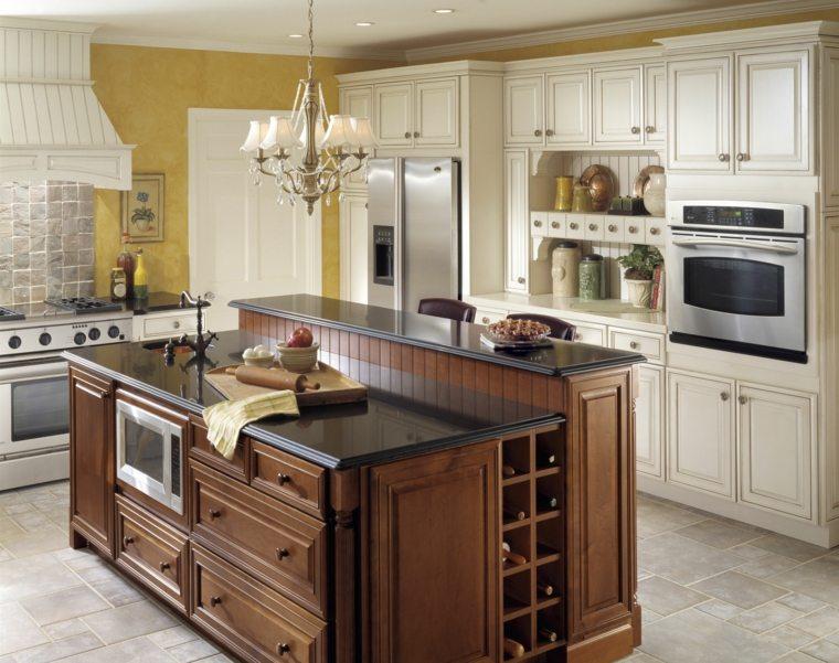 Muebles De Cocina Clasicos. Cocina Y Muebles. Cocina En Esquina De ...