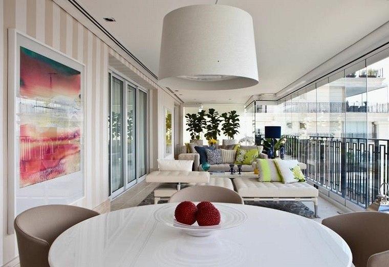 estupenda terraza moderna muebles