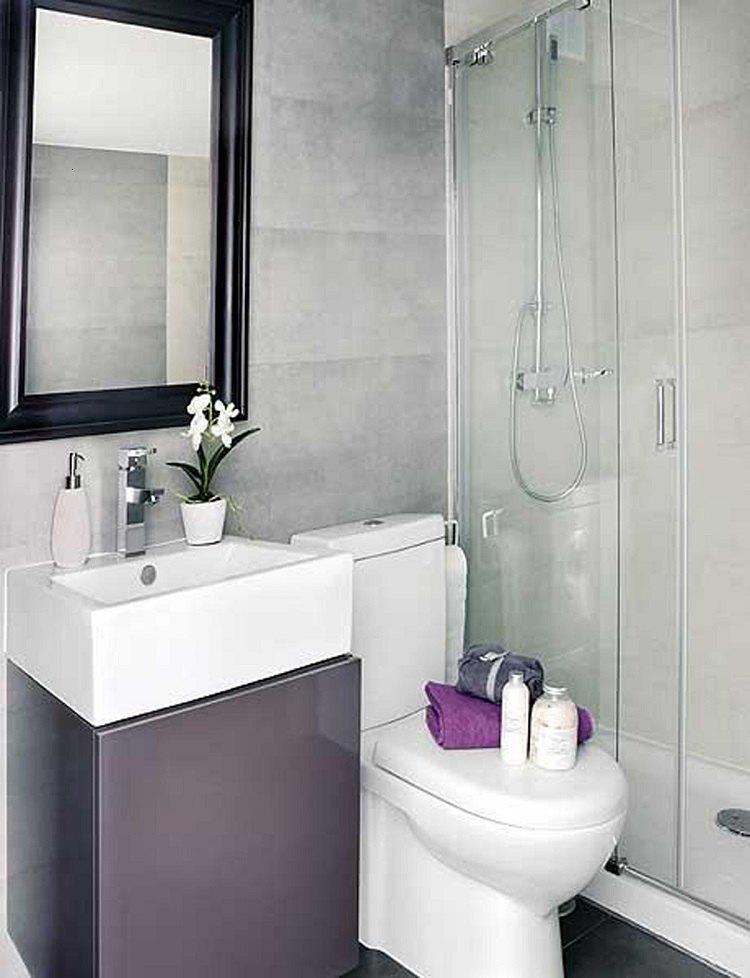 Mueble Baño Turquesa:Sanitarios pequeños – diseños prácticos y funcionales -