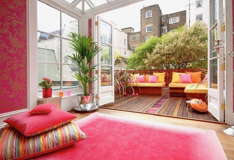 estupendo diseño decoracion de balcones