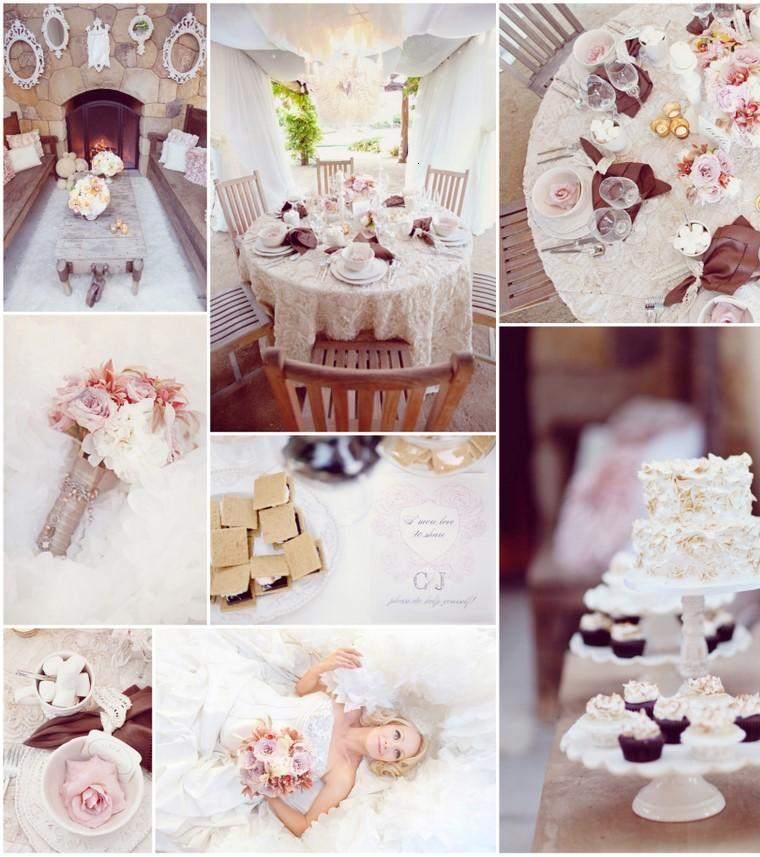 diseños decoración boda retro