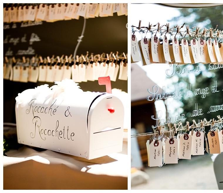 buzon etiquetas invitados boda