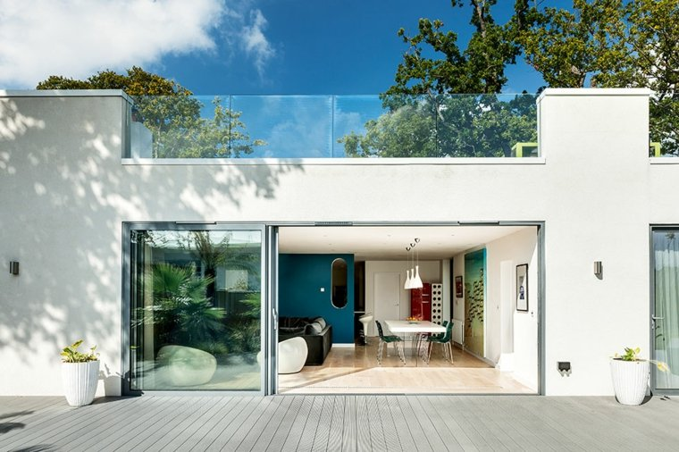 Bauhaus cincuenta dise os de interiores y fachadas - Color de fachadas de casas ...