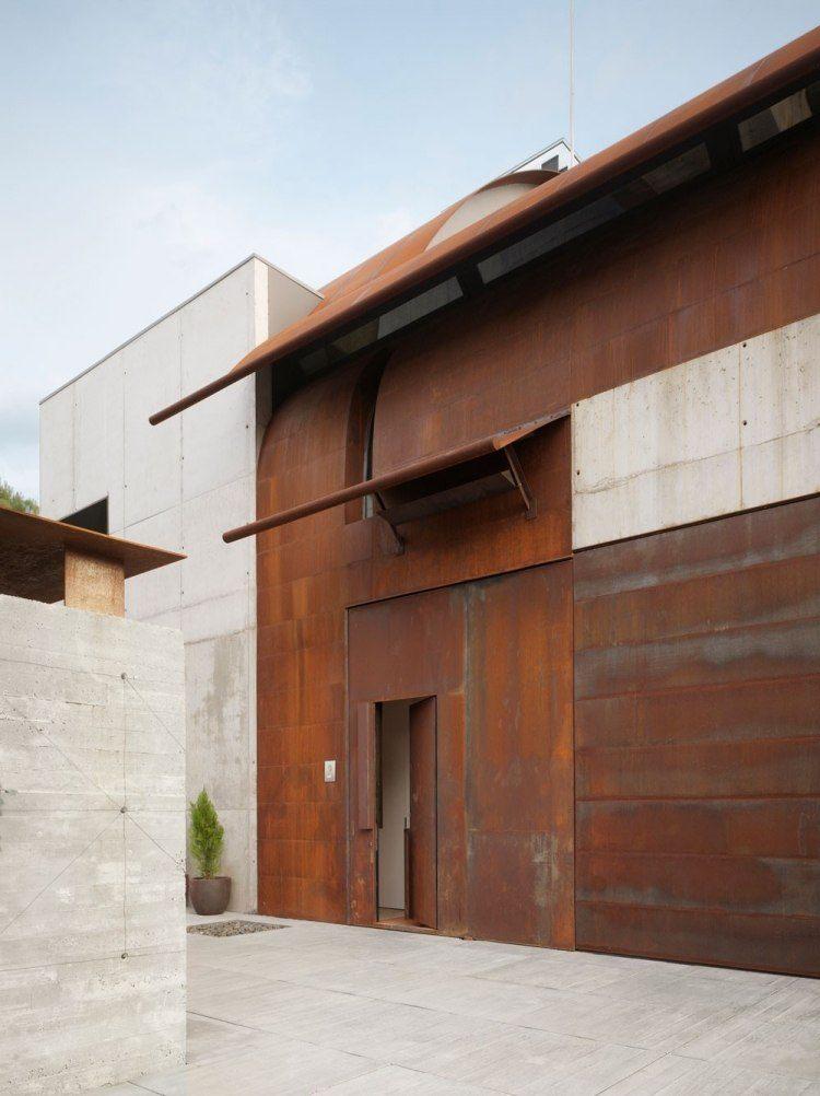Acero corten para exteriores veinticinco ideas de moda for Fachada acero corten