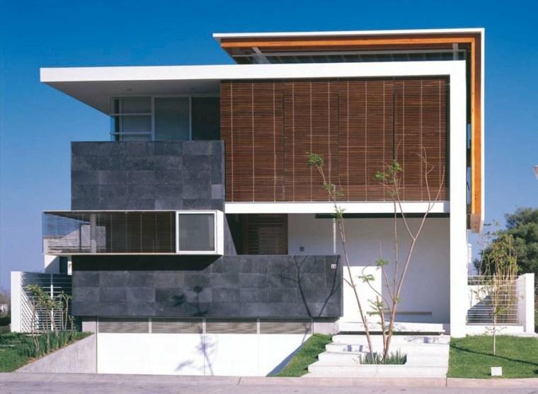 Fachadas de casas modernas treinta y ocho dise os - Materiales fachadas modernas ...