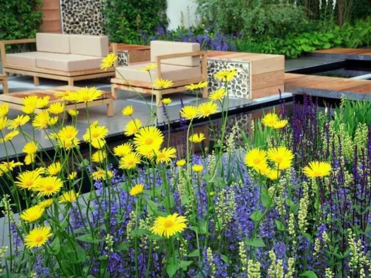 flores bonitas plantas balcon amarillas ideas