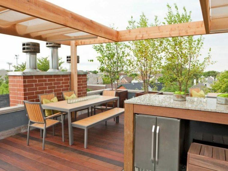 Flores bonitas y plantas para el balc n o la terraza - Arboles terraza ...