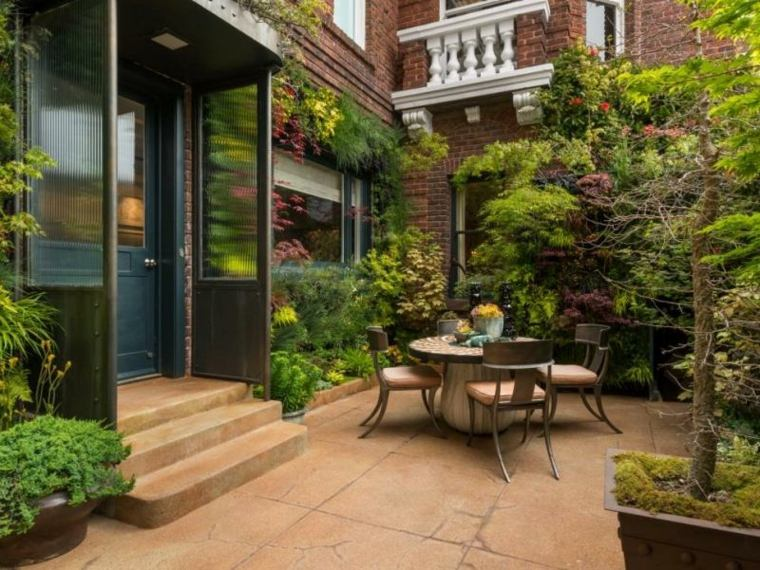 flores plantas trepadoras jardin vertical ideas