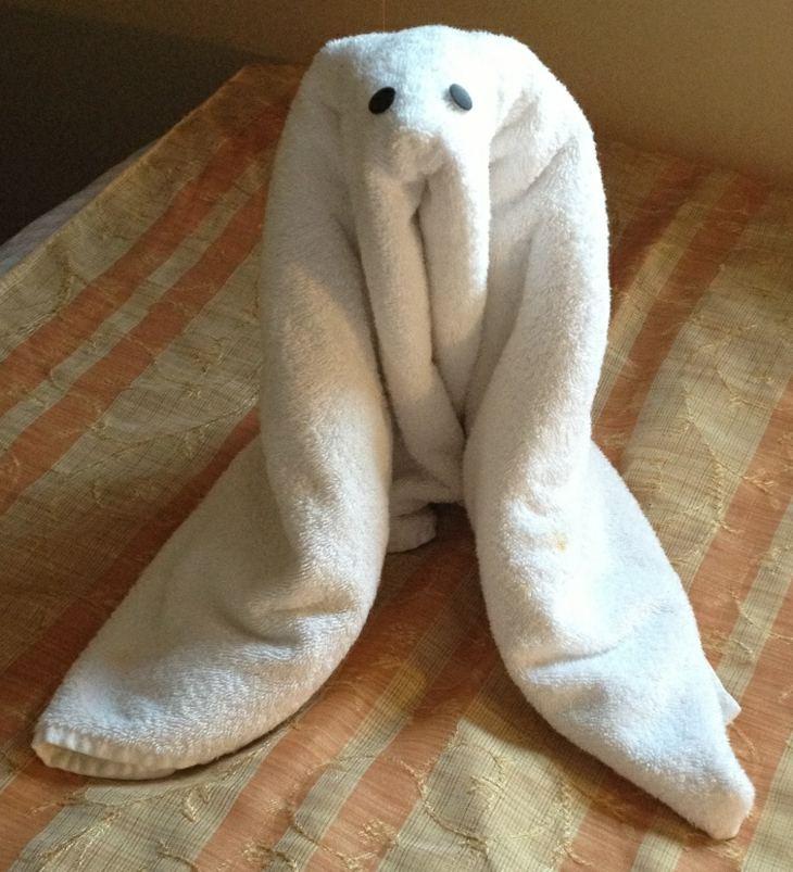 morsa deco toalla blanca