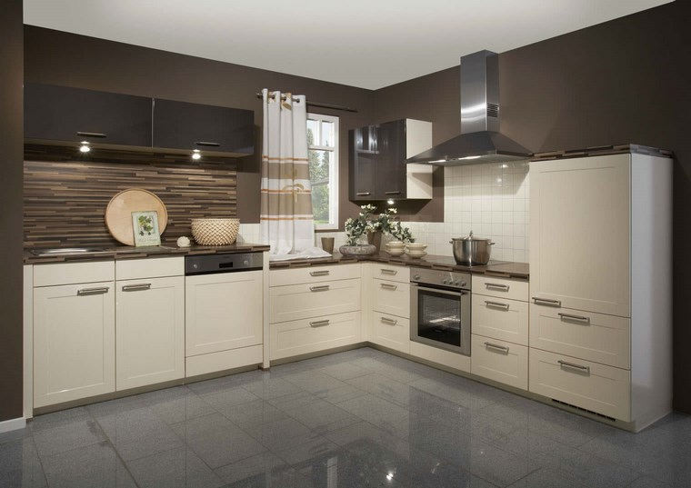 Forma cocinas m s de 50 dise os de cocinas en l for Cocinas modernas blancas 2016