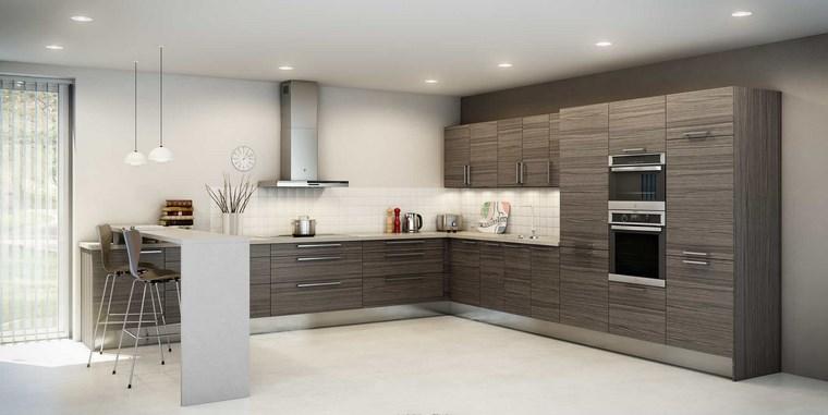 Forma cocinas m s de 50 dise os de cocinas en l for Cuisine exemple amenagement