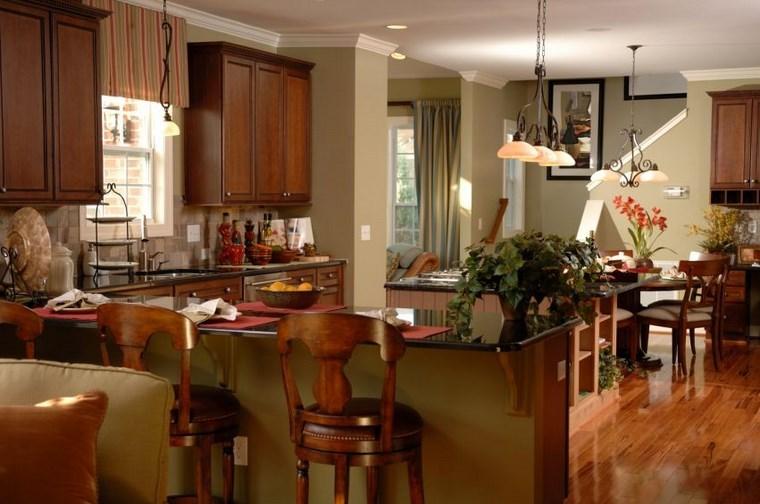 forma-cocinas-diseno-L-barra-sillas-madera