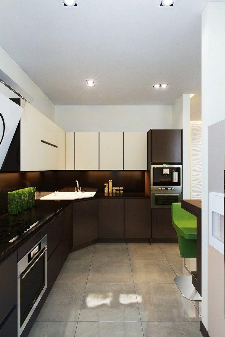 Forma cocinas: 50 diseños de cocinas en L -