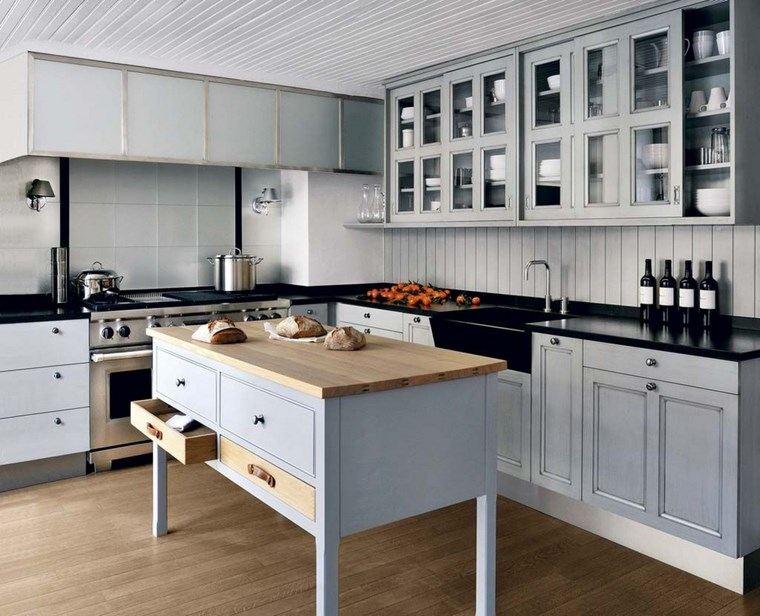 Forma cocinas m s de 50 dise os de cocinas en l for Diseno isla cocina