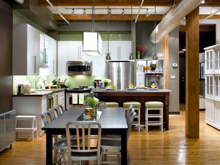 Mesas cocina diseo mesa de cocina y mesa de madera - Mesas cocina diseno ...