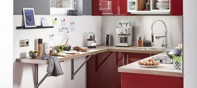 Excelente Diseño De Cocinas Pequeñas En Forma De L Motivo ...
