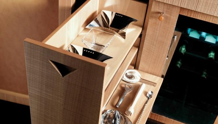 gaveteros vinos elegantes maderas ideas detalles