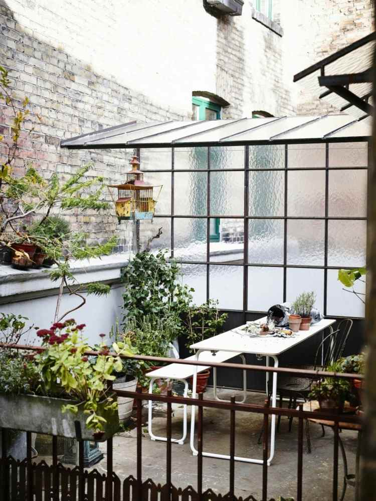 habitacion decorado plantas ornamental cristales