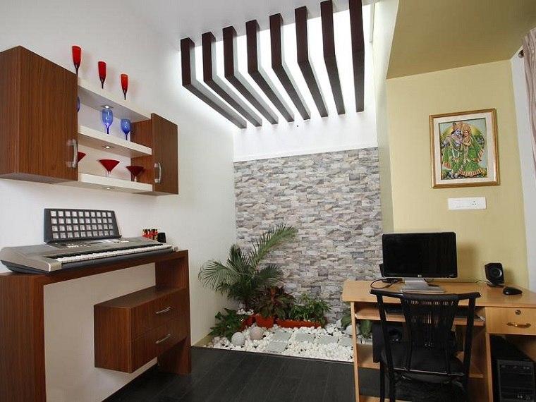 habitacion pequeña mini jardin