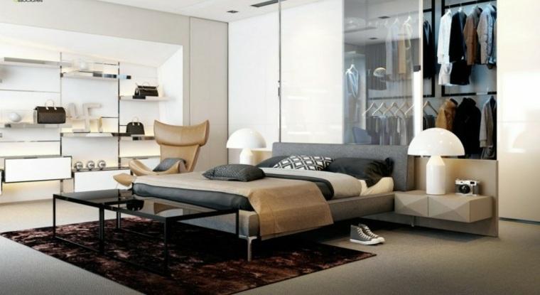 habitacion moderna estilo bauhaus