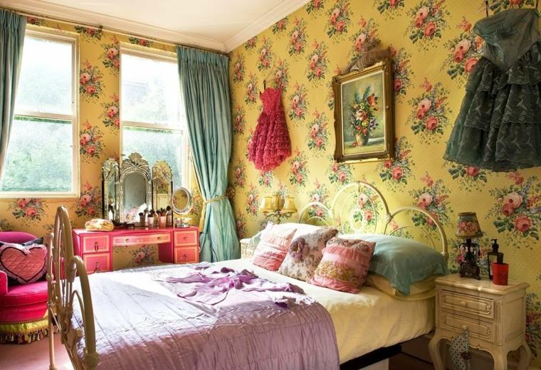 Dormitorios vintage una decoraci n que trae recuerdos - Romantic living room ideas for feminine young ladies casa ...