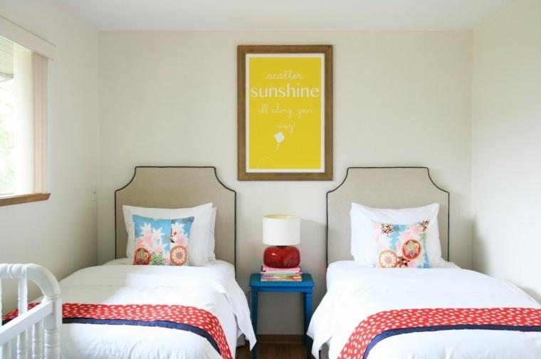 habitaciones infantiles diseño minimalista