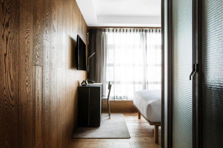 hoteles con encanto maderas casas cristales